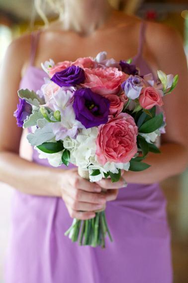 A Rustic Lavender North Carolina Wedding via TheELD.com