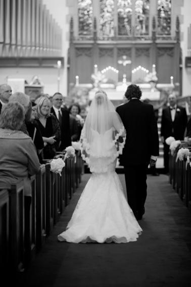 Elegant Hot Pink and Green Wedding via TheELD.com