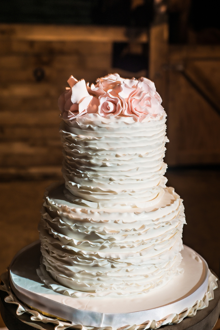 Rustic Chic Blush and White Wedding via TheELD.com
