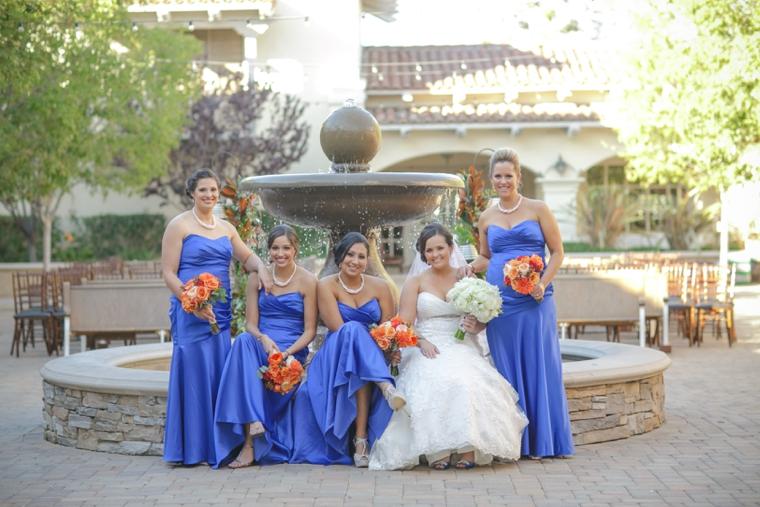 A Cobalt Blue Spanish Inspired Wedding via TheELD.com