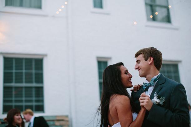 A Romantic Coral & White Florida Wedding via TheELD.com