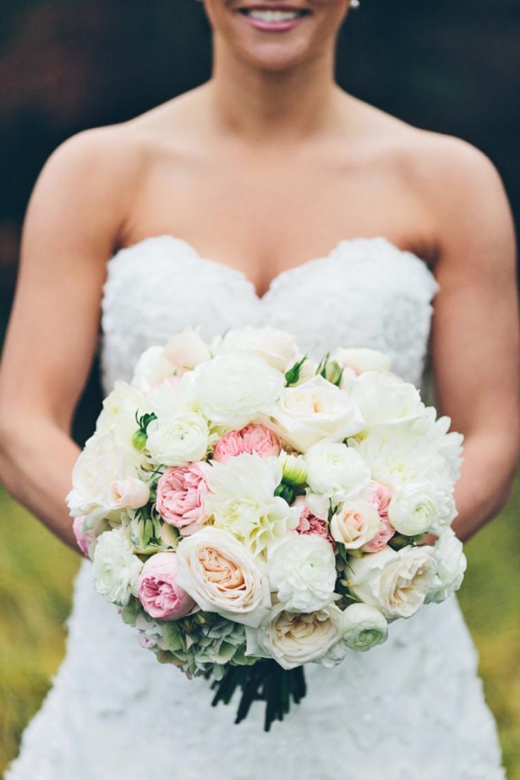 A Vintage Blush and Silver Wedding via TheELD.com