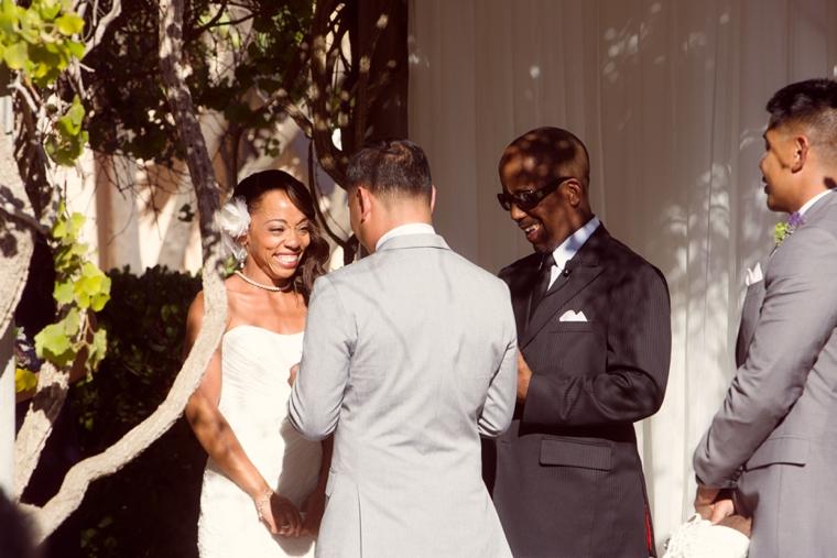 A California Lavender and Yellow Wedding via TheELD.com