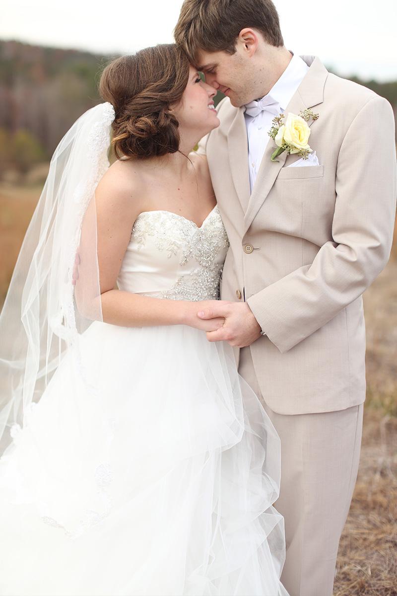 Mint Rustic Elegant Alabama Wedding via TheELD.com