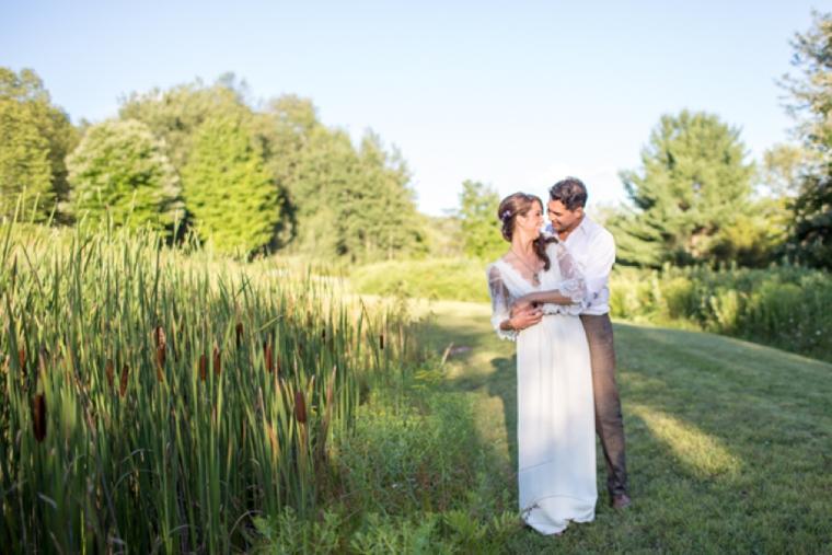 Red and Yellow Eco Friendly Wedding Ideas via TheELD.com