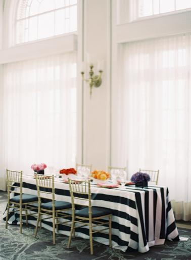 Colorful Kate Spade Inspired Wedding Ideas via TheELD.com