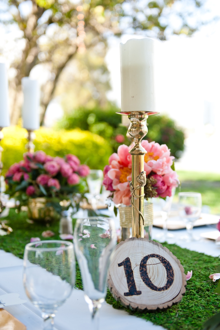A Whimsical & Romantic Garden Wedding via TheELD.com