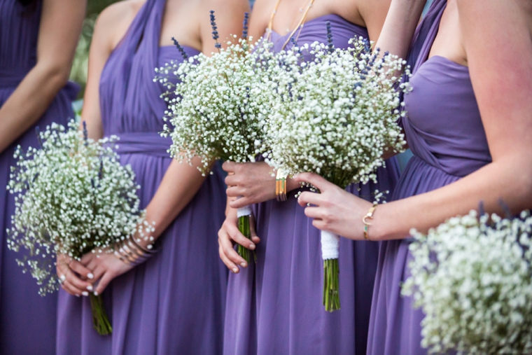 Romantic & Eclectic Purple & Green Wedding via TheELD.com