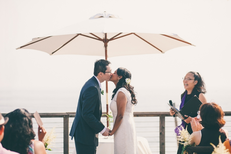 Rustic Organic California Wedding via TheELD.com