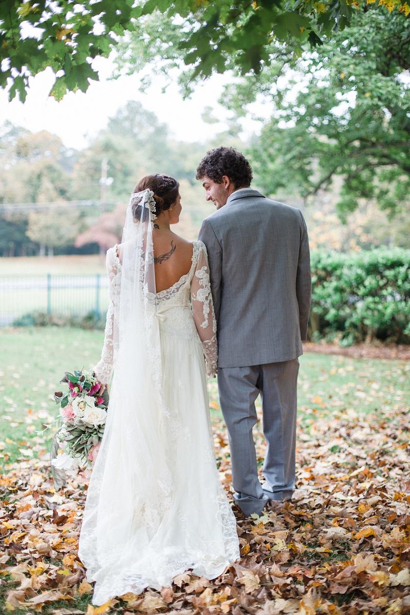 A Jewel Toned Vintage Bohemian Wedding via TheELD.com