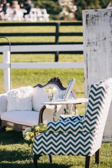Rustic Yellow & Gray Kentucky Farm Wedding via TheELD.com