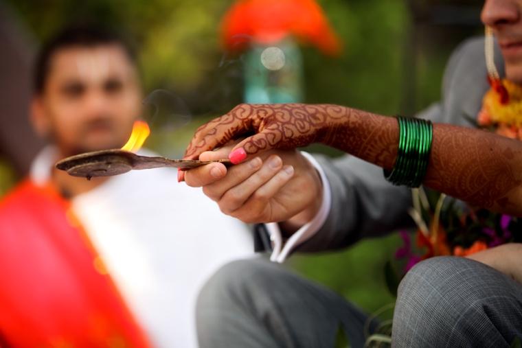 Colorful Multicultural Utah Wedding via TheELD.com