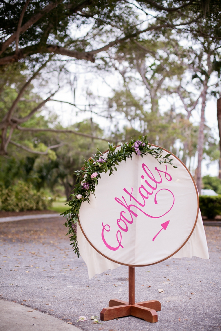 Pink & Purple Vintage Eclectic Wedding via TheELD.com