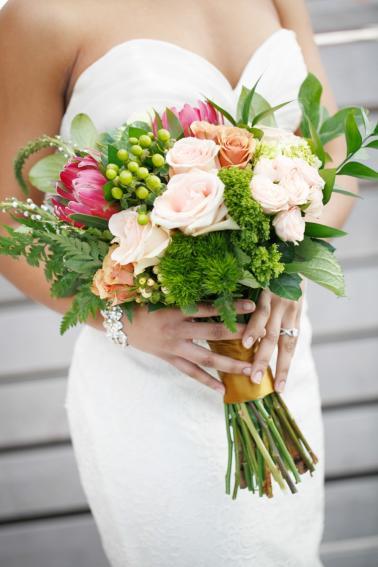 Boho Chic & Modern Wedding Inspiration via TheELD.com