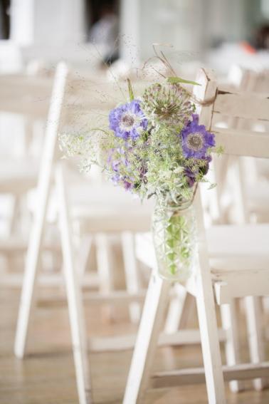 Charming Garden Inspired Vintage Wedding via TheELD.com