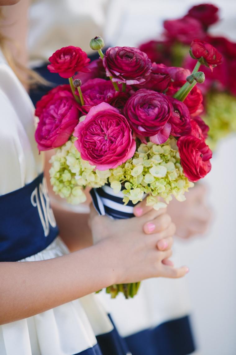 Modern Chic Pink and Navy Wedding via TheELD.com
