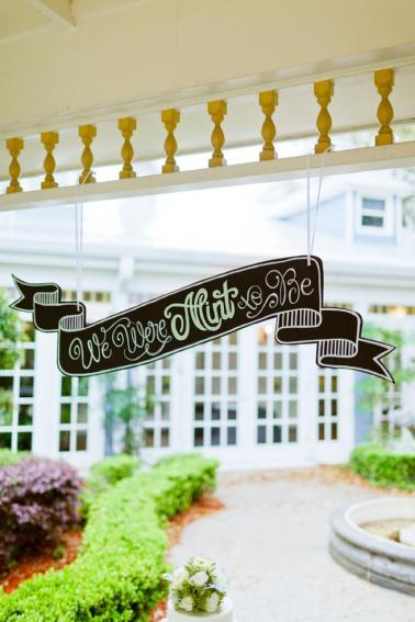 Eclectic Navy, Mint, & Peach Wedding Ideas via TheELD.com