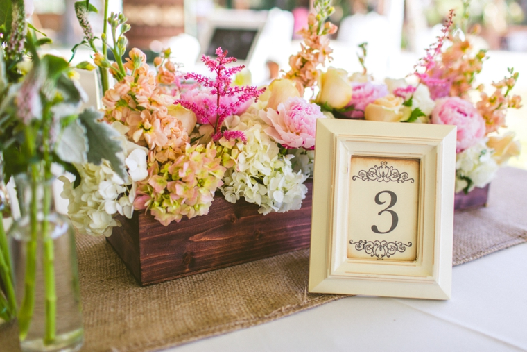A Romantic & Vintage Garden Wedding via TheELD.com