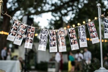 Rustic & Eclectic Garden Wedding via TheELD.com