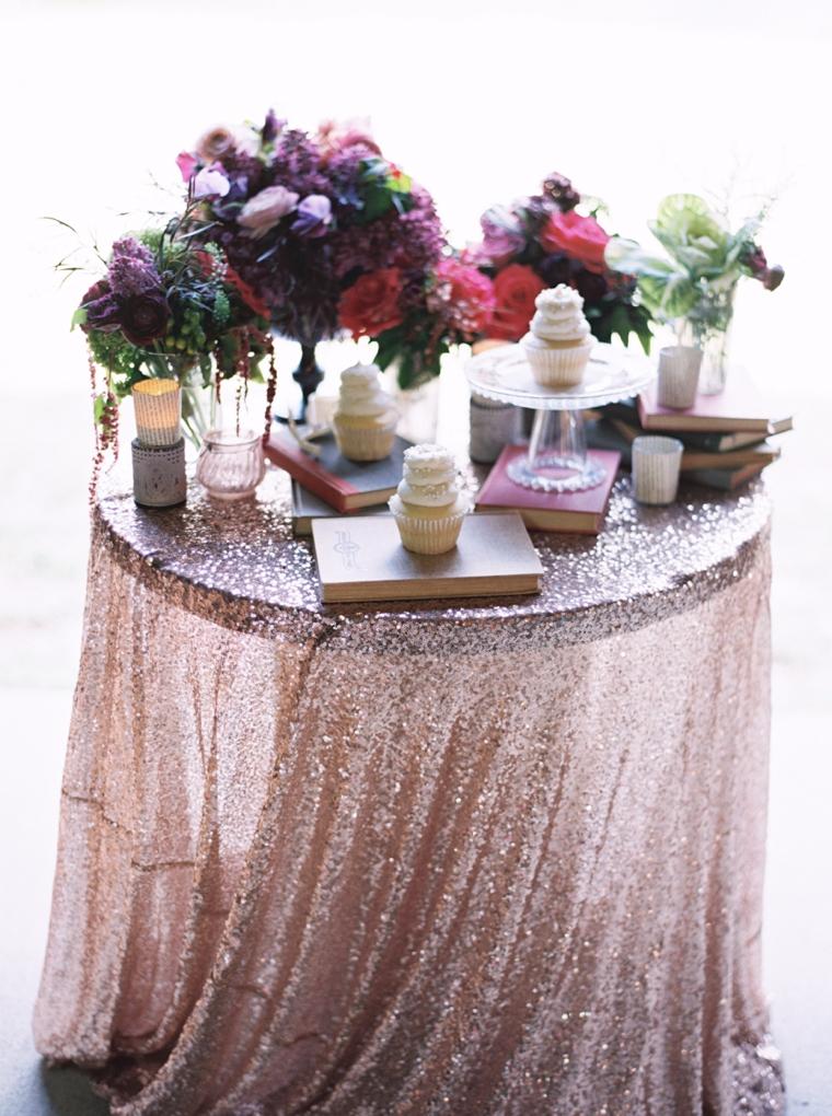 Sophisticated Burgundy & Plum Southern Wedding Inspiration via TheELD.com