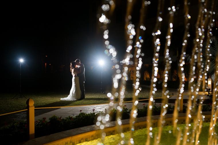 Chic Gold, Aqua, and Lavender Wedding via TheELD.com