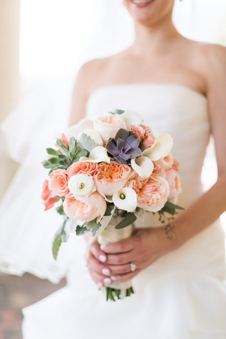 A Romantic Mint And Peach Wedding Every Last Detail