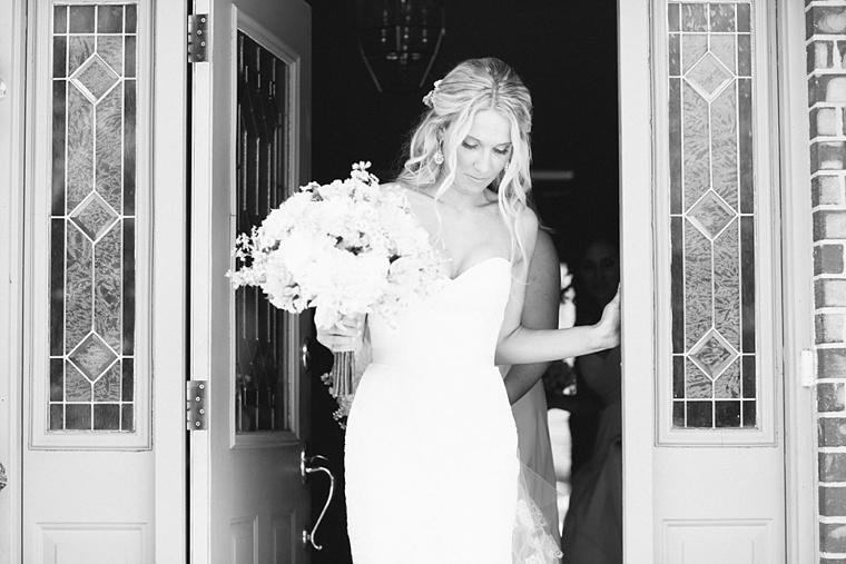Romantic Blush & Peach Garden Wedding  via TheELD.com