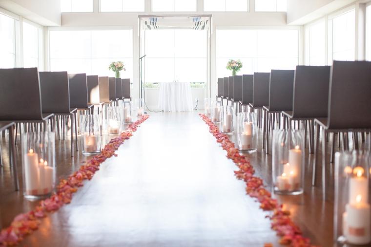 A Modern Chic Peach & Coral Wedding via TheELD.com