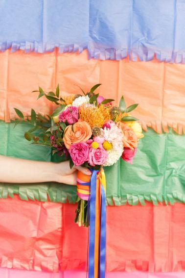 Colorful Mexico Inspired Wedding Ideas via TheELD.com