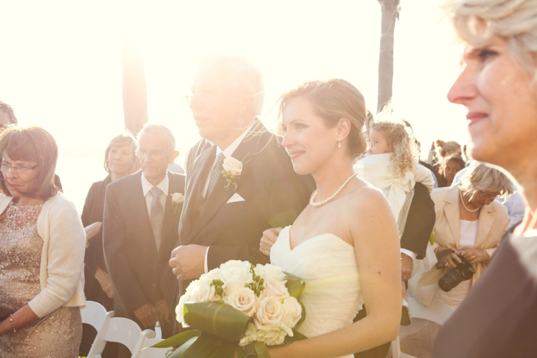 Elegant Coastal Themed Navy and White Wedding  via TheELD.com