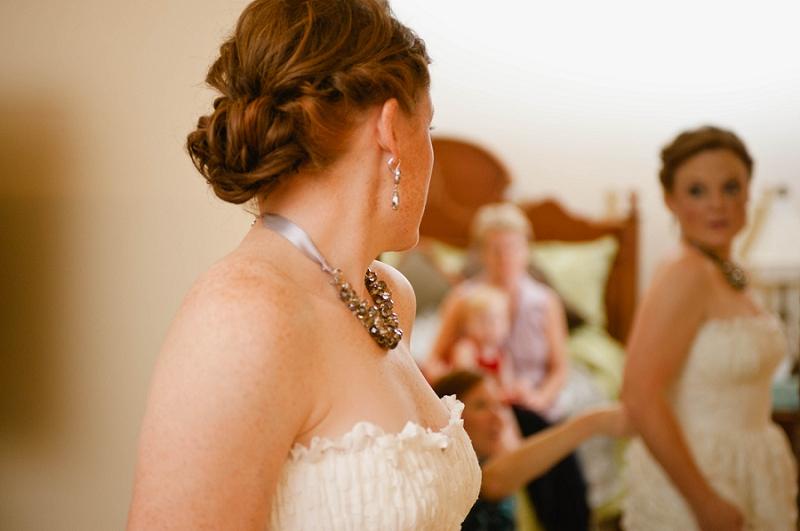 A Rustic and Intimate Fall Wedding via TheELD.com