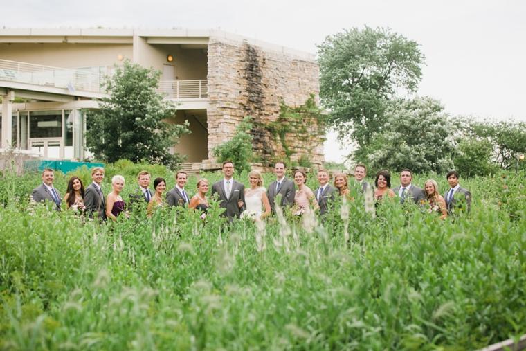 A Whimsical Urban Chicago Wedding via TheELD.com