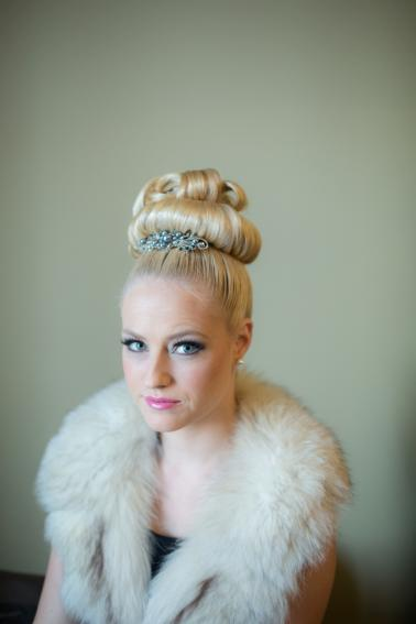 Glitzy Bronze New Years Eve Wedding Inspiration via TheELD.com