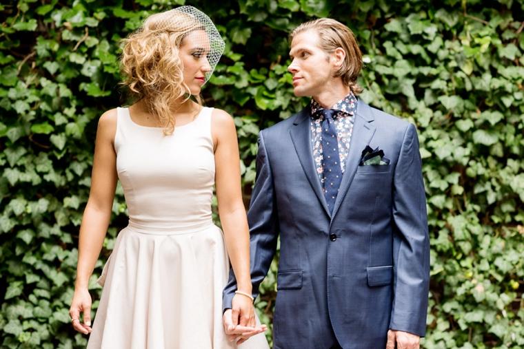 Edgy & Chic Hipster Wedding Ideas via TheELD.com