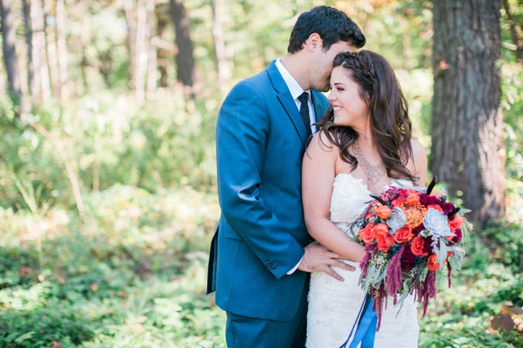 A Winter Wedding Look + How To Be Comfortable In Front Of The Camera via TheELD.com