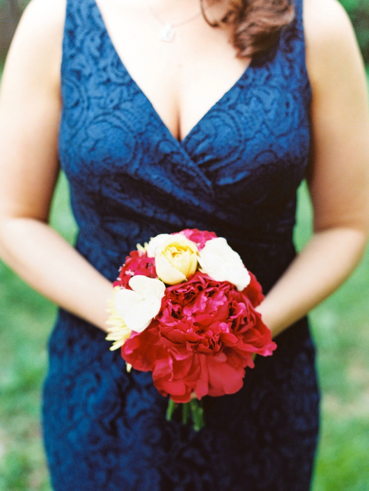 A Glitter Filled Colorful Wedding In North Carolina via TheELD.com