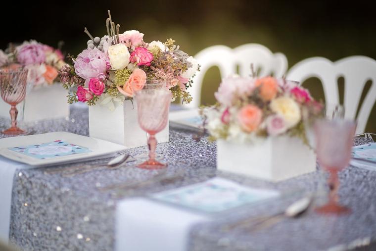 Colorful, Sparkly & Modern Wedding Ideas + ELDs 5 Year Blogiversary! via TheELD.com