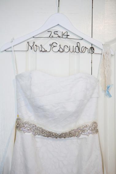 Rustic Green & White Nature Inspired Wedding via TheELD.com