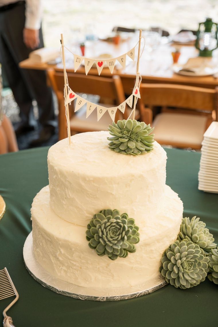 A Glamping Themed Yellow and Green Wedding via TheELD.com