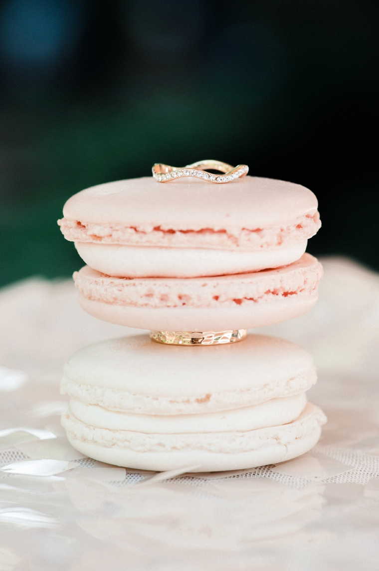 Blush and Gold Wedding Inspiration via TheELD.com