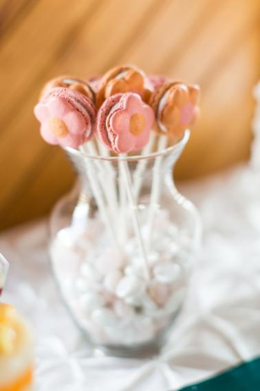 Bright, Bold Pink and Teal Wedding Ideas via TheELD.com