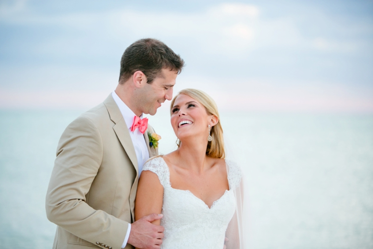 An Elegant Navy and Coral Wedding via TheELD.com