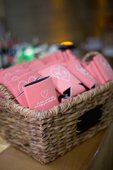 Modern Chic Champagne and Pink Wedding via TheELD.com
