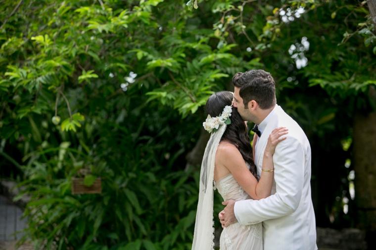 An Elegant Garden Inspired Lavender Wedding via TheELD.com