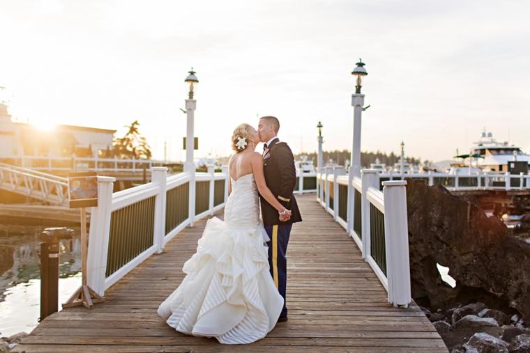 A Nautical Coral and Navy Wedding via TheELD.com