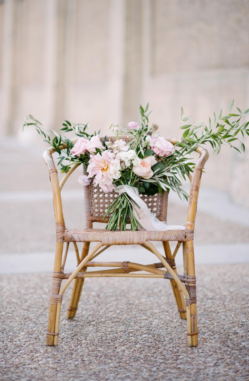 Elegant Bohemian Bridal Inspiration via TheELD.com