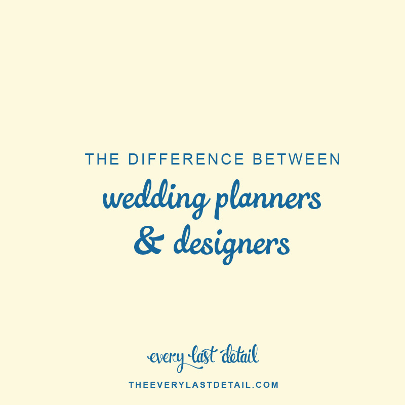 The Difference Between Event Planners & Event Designers via TheELD.com