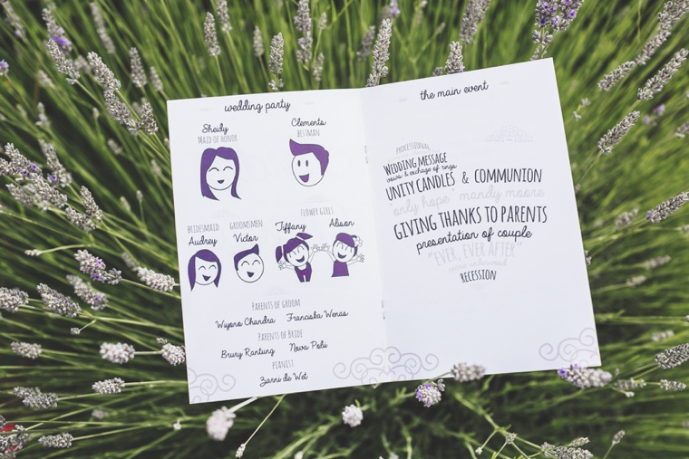 A Whimsical & Modern Purple Washington Wedding via TheELD.com