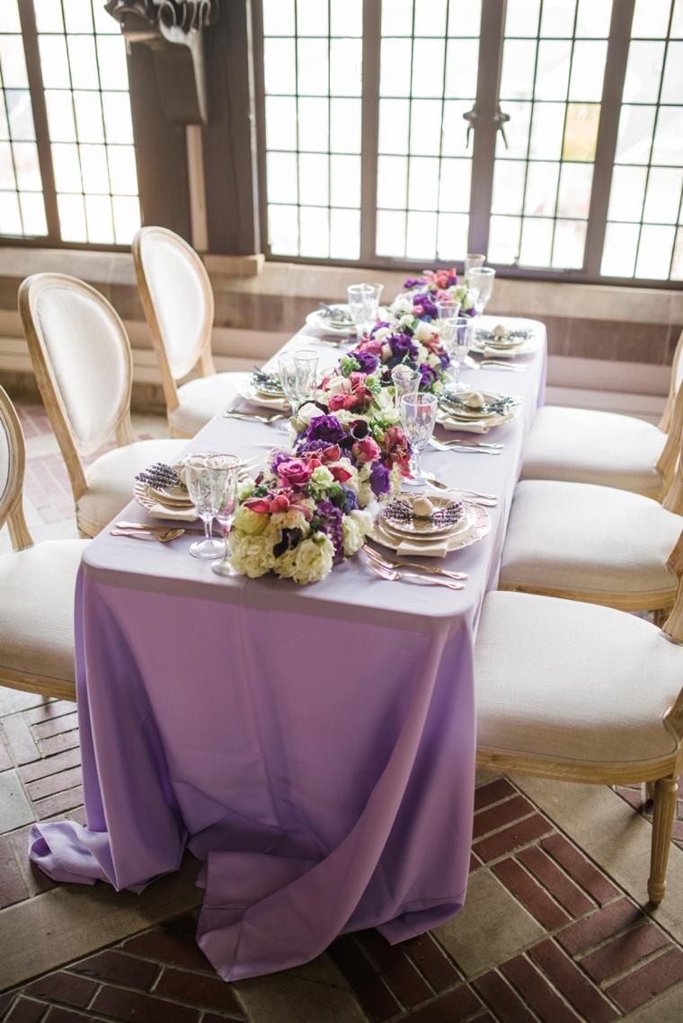 Fairy Tale Inspired Lavender Wedding Ideas via TheELD.com