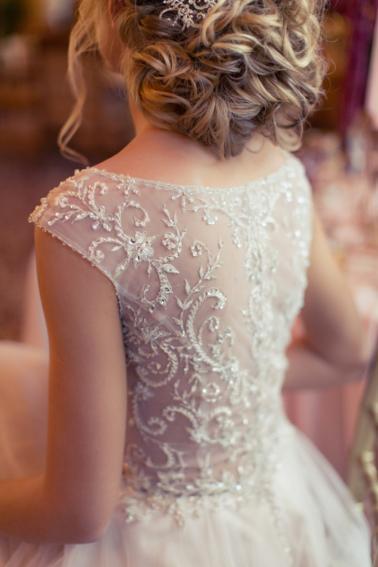 Romantic Pink and Red Wedding Inspiration via TheELD.com